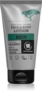 Urtekram Men hydratační mléko na tělo a obličej