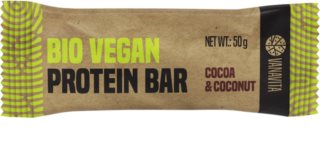 VanaVita Vegan Protein Bar BIO veganská proteinová tyčinka příchuť  cocoa & coconut
