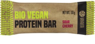 VanaVita Vegan Protein Bar BIO veganská proteinová tyčinka příchuť  sour cherry