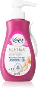 Veet Silk & Fresh crema depilatoria para pieles sensibles