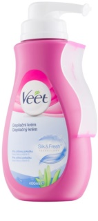 Veet Silk & Fresh Hair Removal Cream for Sensitive Skin