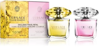 Versace Yellow Diamond & Bright Crystal poklon set I. za žene