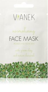 Vianek Normalizing tisztító és mattító arcmaszk az arcra