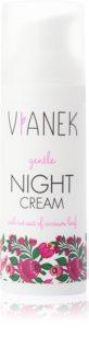Vianek Gentle hidratáló éjszakai krém az érzékeny és allergiás bőrre