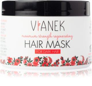 Vianek Maximum Strenght Regenerating маска для глибокого  відновлення для темного волосся