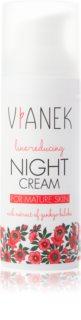Vianek Line-Reducing fiatalító és simító éjszakai krém érett bőrre