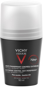 Vichy Homme Deodorant Antiperspirant Roll-On til at behandle overdreven svedtendens