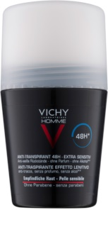 Vichy Homme Deodorant Roll-on antiperspirant  Doftfri