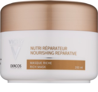 Vichy Dercos Nutri Reparateur Nourishing Reparative Rich Mask For Dry And Damaged Hair