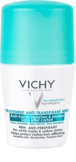 Vichy Deodorant Antiperspirant Roll-On Til at behandle hvide og gule pletter