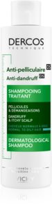Vichy Dercos Anti-Dandruff Anti-Ross Shampoo  voor Normaal tot Vet Haar