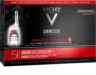 Vichy Dercos Aminexil Clinical 5 Local Anti-Hair Loss Treatment  for Men