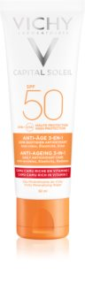 Vichy Idéal Soleil Anti-age ochranný krém proti starnutiu pleti SPF 50