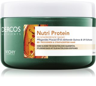 Vichy Dercos Nutri Protein nährende Maske für trockenes Haar