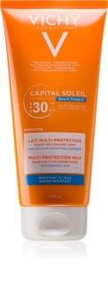Vichy Capital Soleil Beach Protect multiprotekční hydratační mléko SPF 30