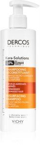 Vichy Dercos Kera-Solutions obnovující šampon pro suché a poškozené vlasy