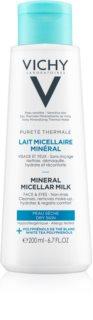 Vichy Pureté Thermale leite micelar mineral para pele seca