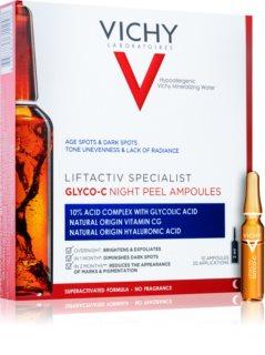 Vichy Liftactiv Specialist Glyco-C Ampollas anti-manchas oscuras para la noche