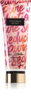 Victoria's Secret Pure Seduction Shimmer mleczko do ciała z brokatem dla kobiet