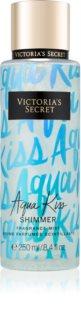 Victoria's Secret Aqua Kiss Shimmer Body Spray for Women