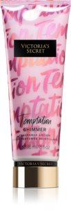Victoria's Secret Temptation Shimmer тоалетно мляко за тяло за жени