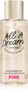 Victoria's Secret PINK All A Dream Shimmer Body Spray with Glitter for Women