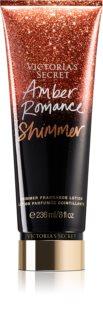 Victoria's Secret Amber Romance Shimmer loțiune parfumată pentru corp pentru femei