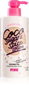 Victoria's Secret PINK Coco Sugar & Spice Lotion hidratáló testápoló tej hölgyeknek
