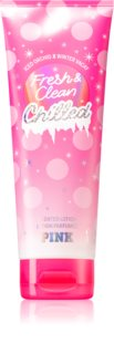 Victoria's Secret PINK Fresh & Clean Chilled leche corporal para mujer