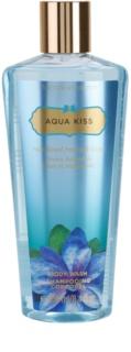 Victoria's Secret Aqua Kiss Rain-Kissed Freesia & Daisy Shower Gel for Women