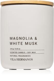 Vila Hermanos Concrete Magnolia & White Musk bougie parfumée