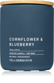Vila Hermanos Concrete Cornflower & Blueberry illatos gyertya