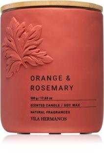 Vila Hermanos Concrete Orange & Rosemary illatos gyertya
