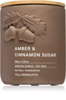 Vila Hermanos Amber & Cinnamon Sugar doftljus