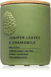 Vila Hermanos Juniper Leaves & Chamomille candela profumata