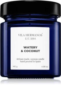 Vila Hermanos Apothecary Cobalt Blue Watery & Coconut Duftkerze