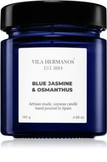 Vila Hermanos Apothecary Cobalt Blue Jasmine & Osmanthus Duftkerze