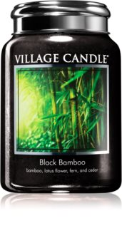 Village Candle Black Bamboo ароматна свещ
