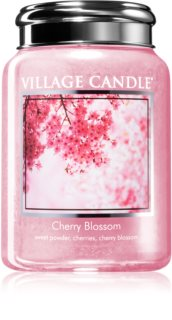 Village Candle Cherry Blossom ароматна свещ