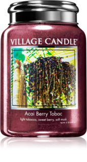 Village Candle Acai Berry Tobac ароматна свещ
