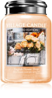 Village Candle English Flower Shop dišeča sveča