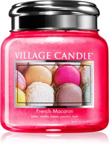 Village Candle French Macaron scented candle