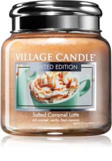 Village Candle Salted Caramel Latte scented candle