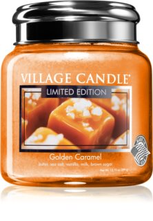 Village Candle Golden Caramel scented candle
