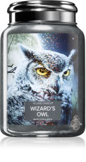 Village Candle Wizard´s owl scented candle