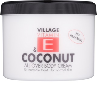 Village Vitamin E Coconut Body Cream