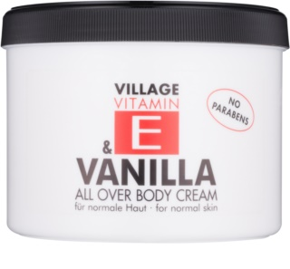 Village Vitamin E Vanilla Body Cream