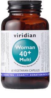 Viridian Nutrition Woman 40+ Multi komplexní multivitamín s minerály pro ženy