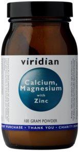 Viridian Nutrition Calcium, Magnesium with Zinc podpora normálního stavu kostí a zubů