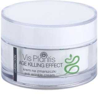 Vis Plantis Age Killing Effect Anti-Wrinkle Night Cream With Snake Venom